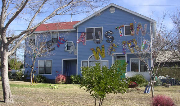 Famous Keep Austin Weird house for rent | That Other Paper